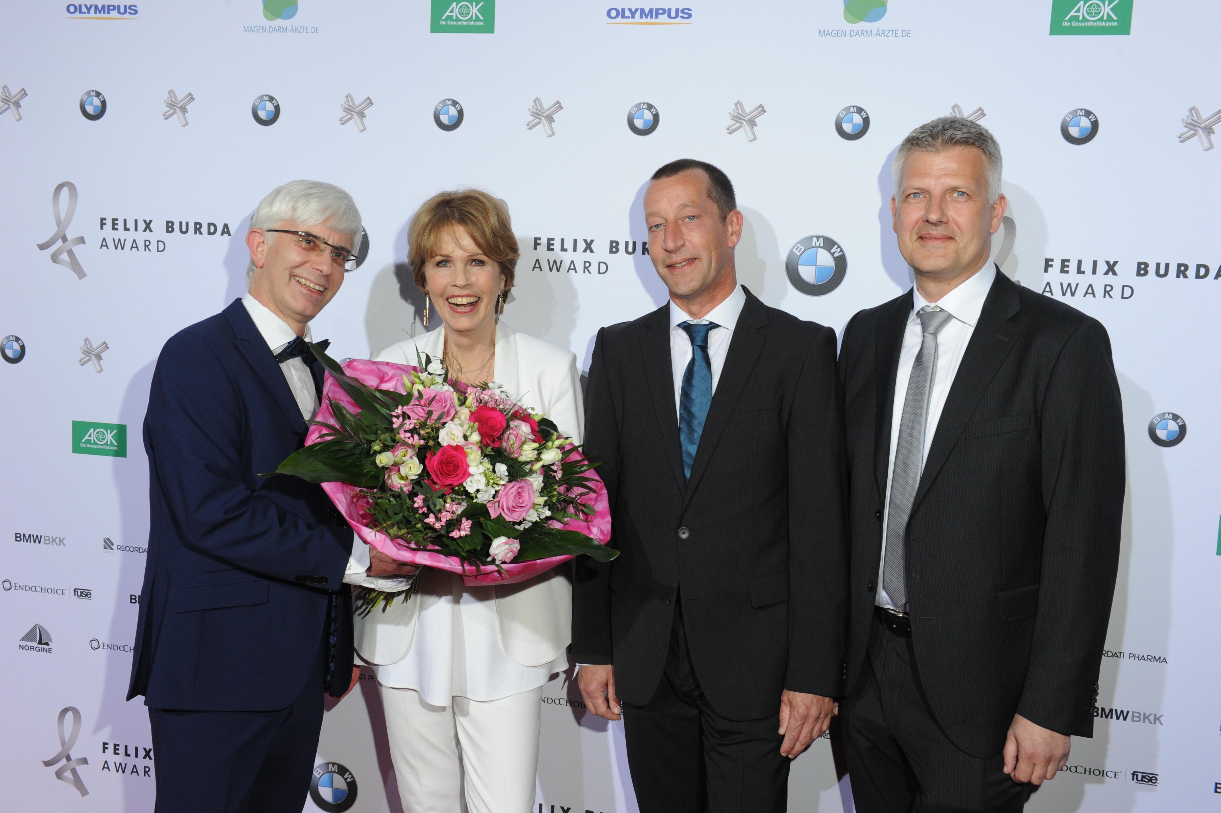 FELIX BURDA AWARD 2016 in der BMW Welt MŸnchen  am 17.04.2016